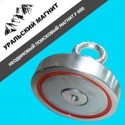 Поисковый односторонний магнит F600